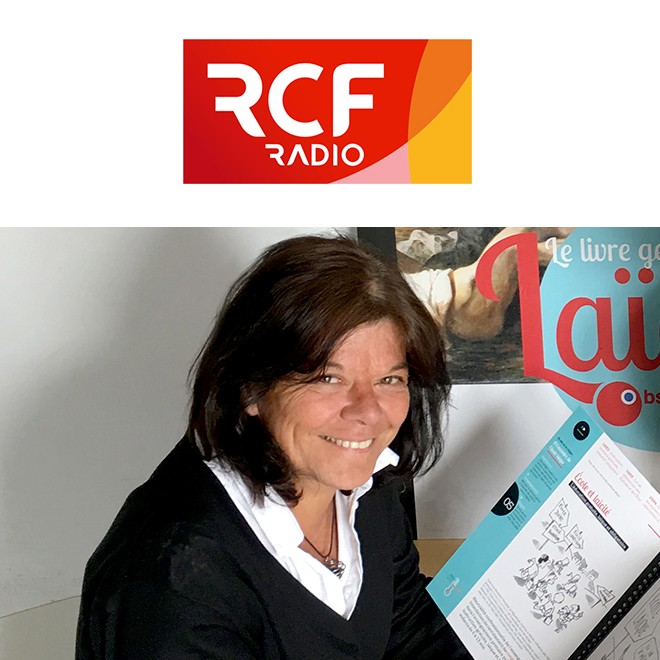 Radio RCF – Interview d'Odile MIRIBEL
