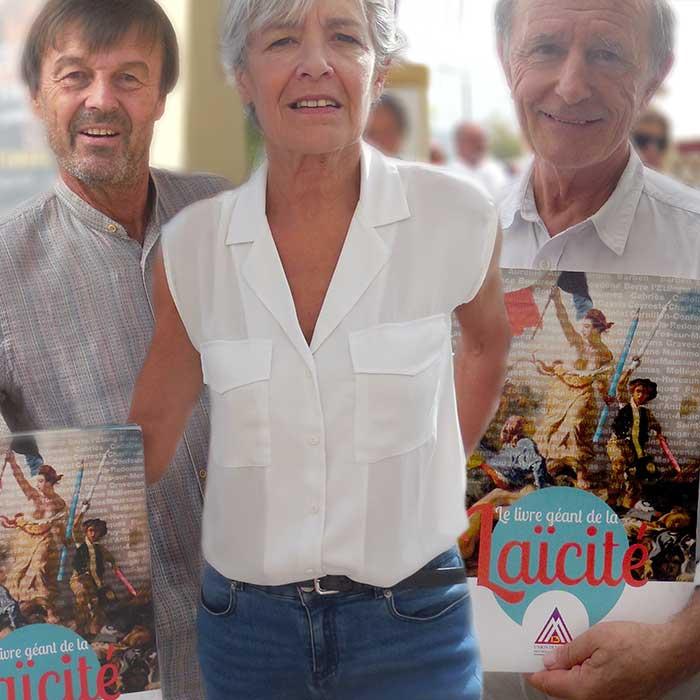 Nicolas HULOT  /  Claudie HAIGNERÉ / Jean-Louis ÉTIENNE