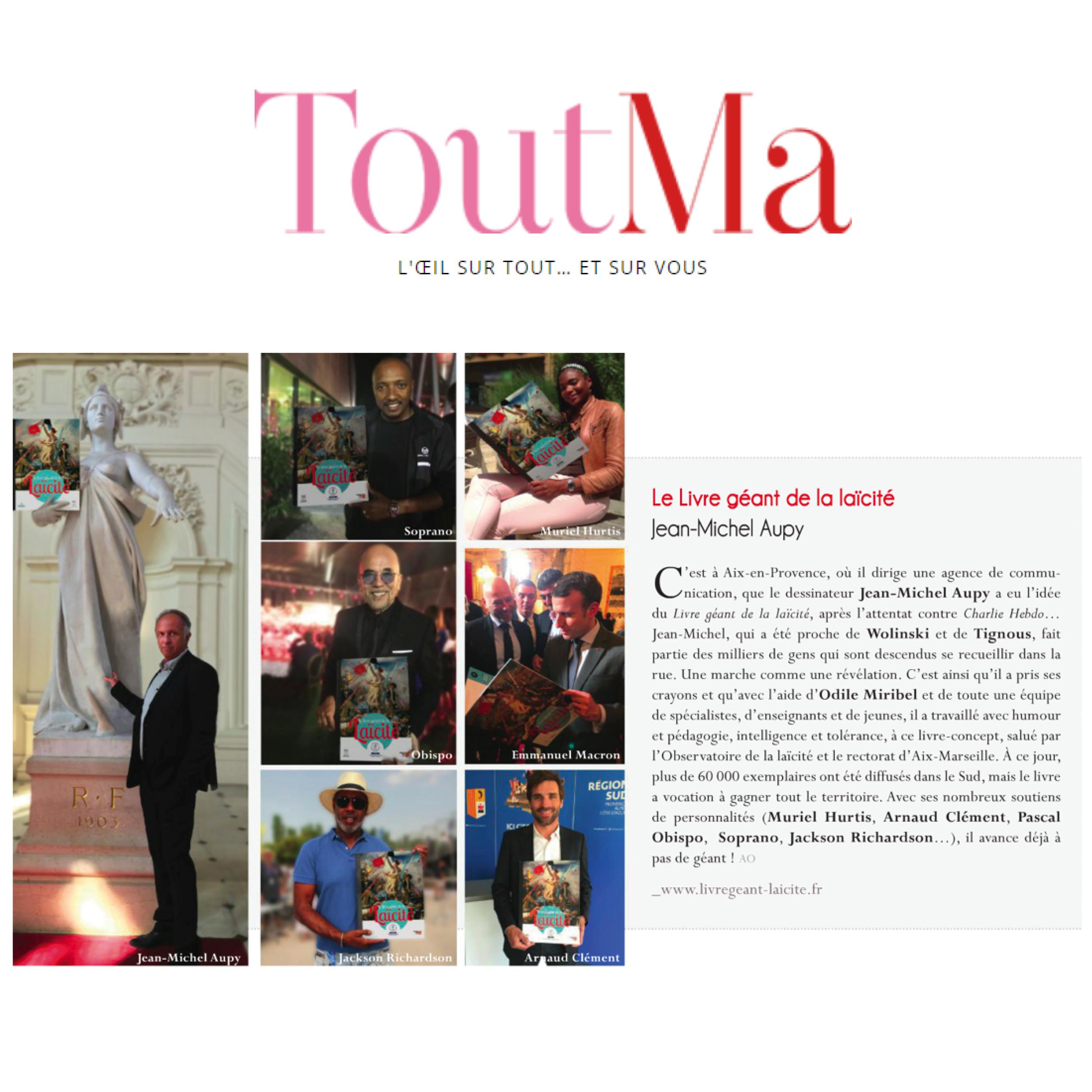 TOUTMA Magazine, 25 Septembre 2019