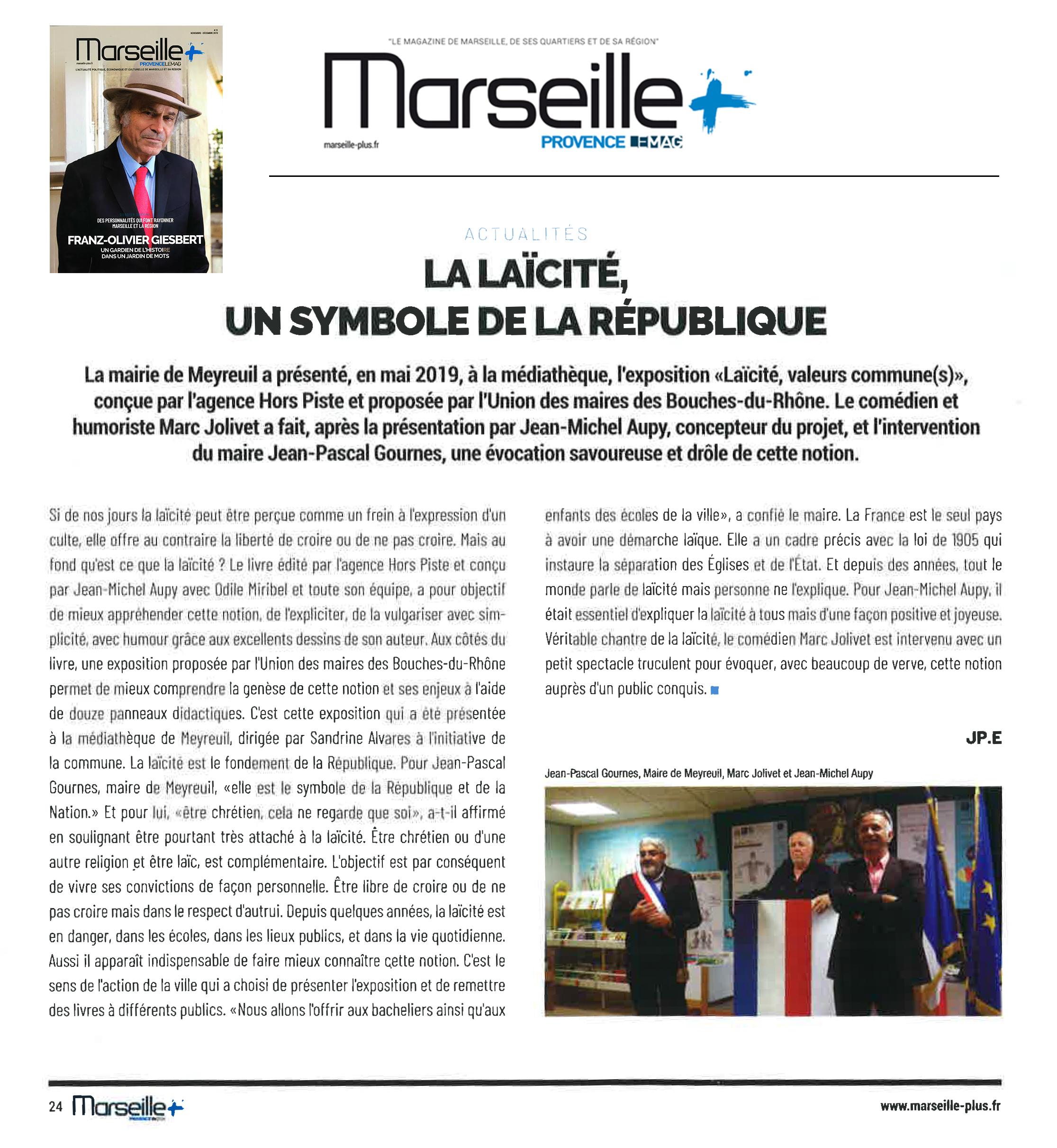 Marseille-Provence LE MAG revient à la Mairie de Meyreuil