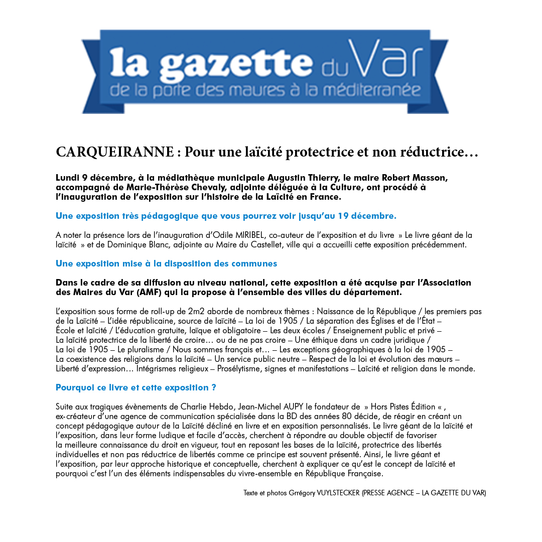 La Gazette du Var 09/12/19