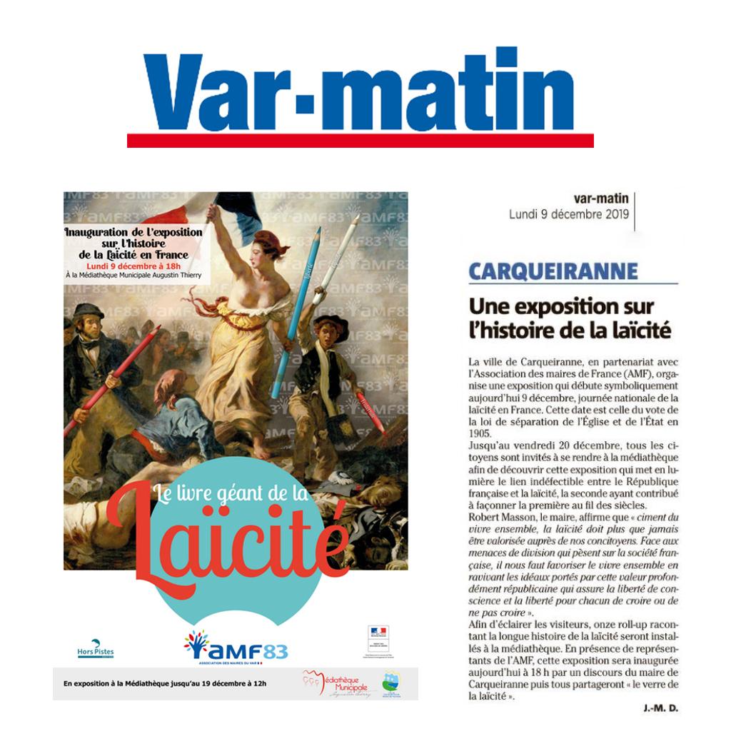 Var Matin 09/12/19