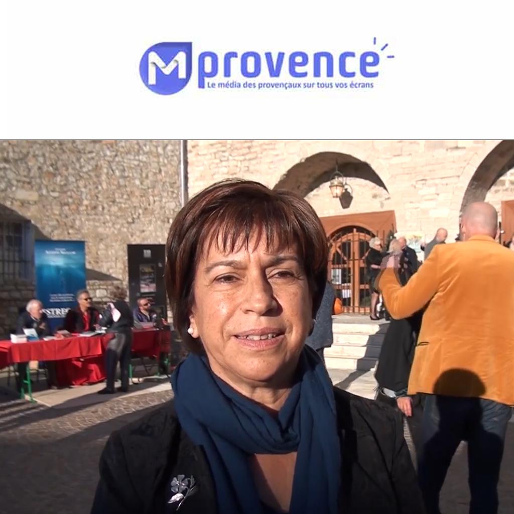 Interview Mireille Benedetti / Adjointe au Maire de la Ciotat / MProvenceTV 09/12/19