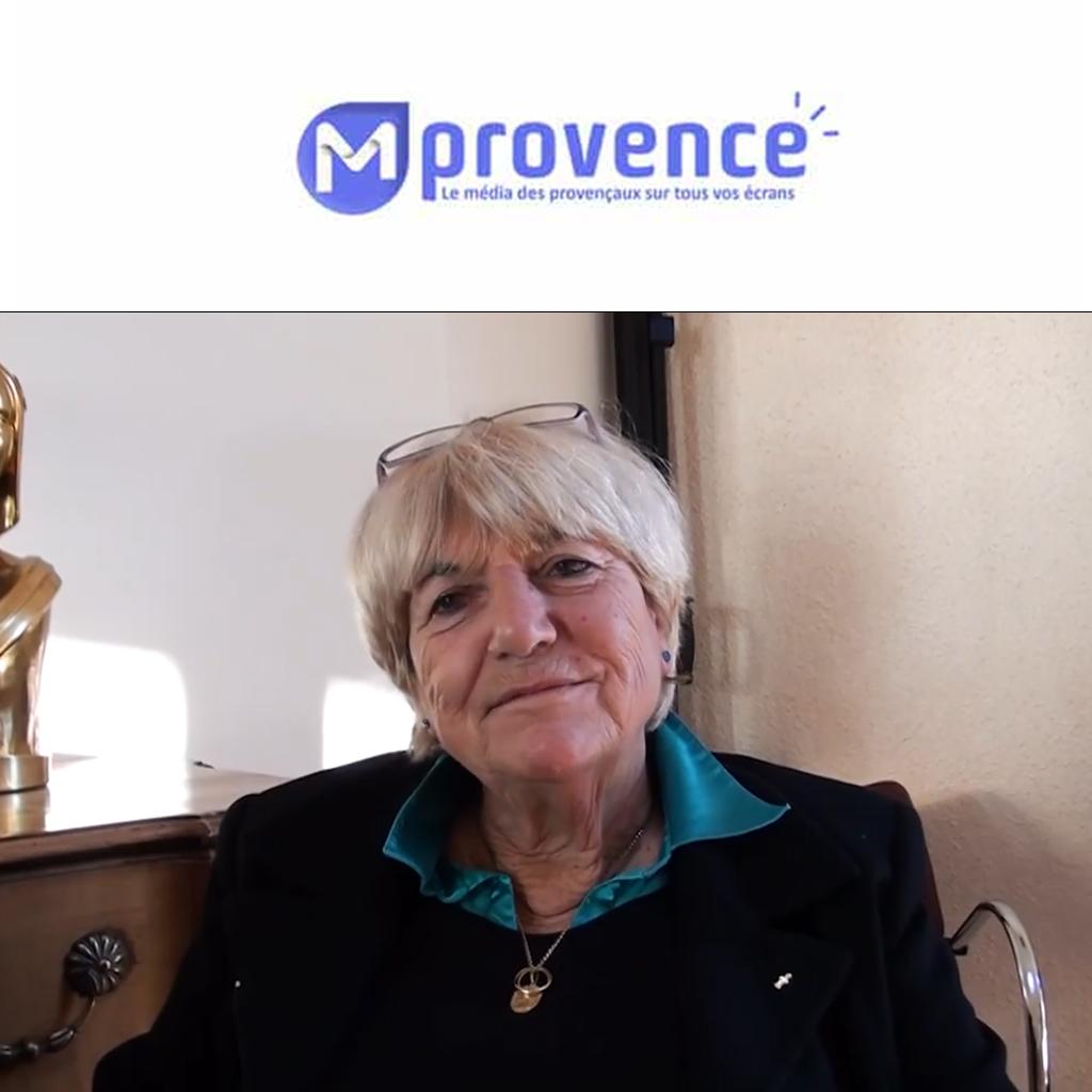 Interview Nicole Boizis / Maire du Castellet / MProvenceTV 09/12/19