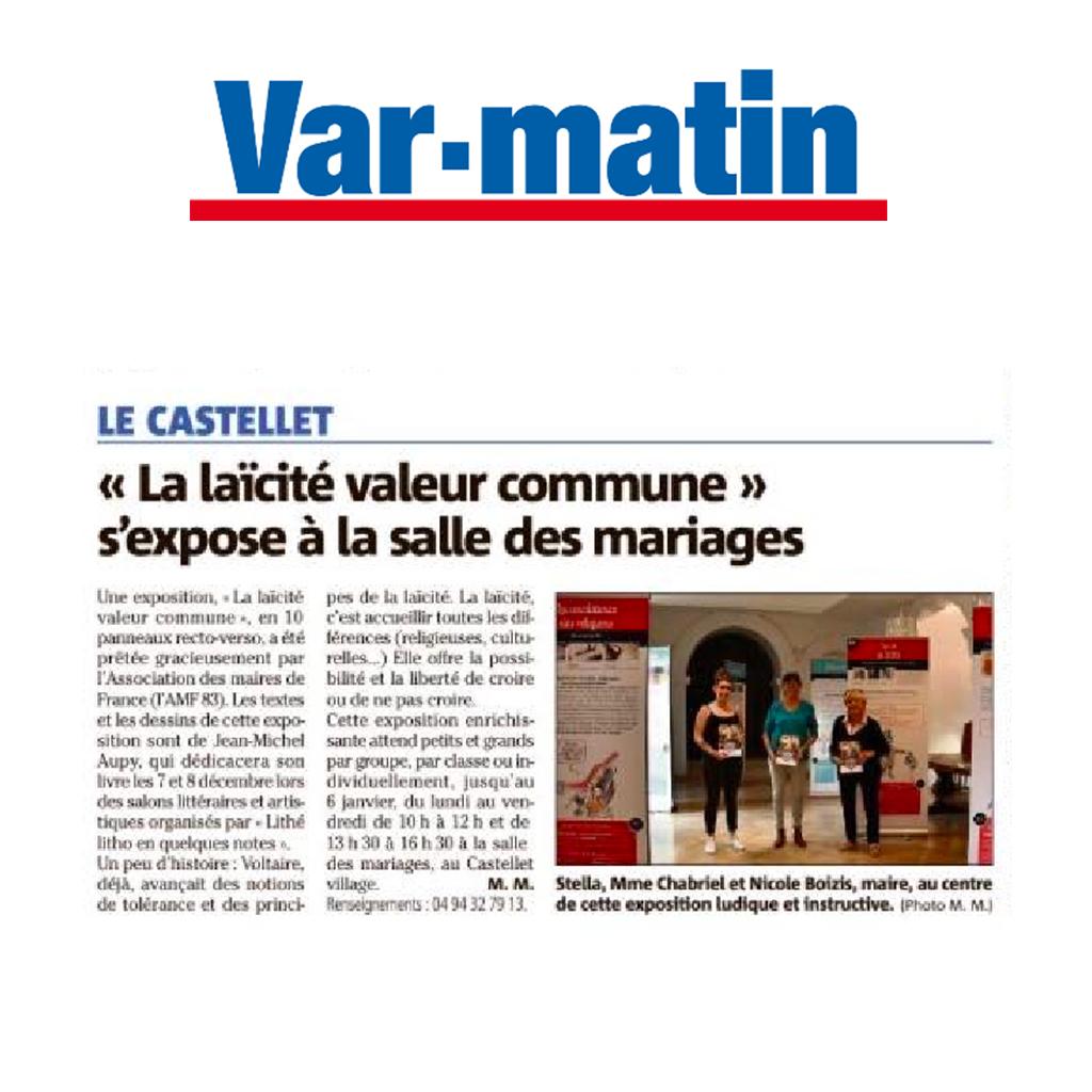 Var Matin le Castellet 09/12/19