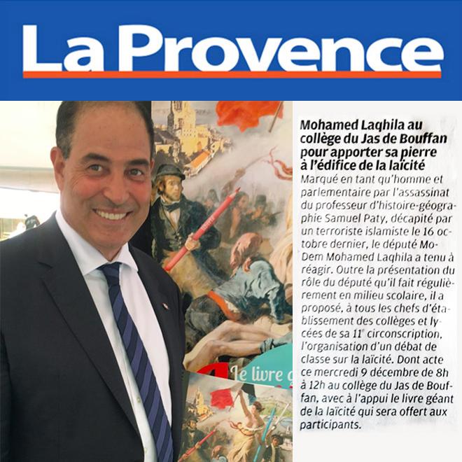 Le député Mohamed Laqhila a démarré sa tournée des Collèges et Lycées