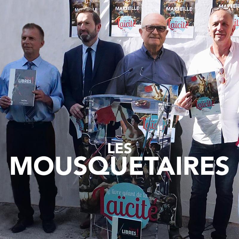 Quand 3 Proviseurs vie scolaire du Rectorat d'Aix-Marseille …